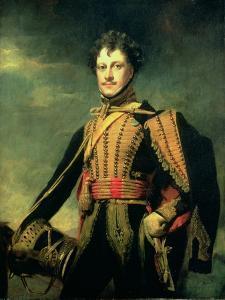 Lt. Col. Sir John James Fraser in Hussar Uniform by Sir Henry Raeburn