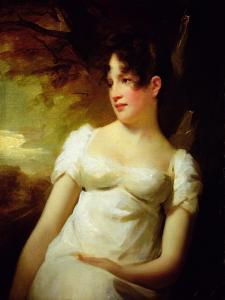 Miss Lamont of Greenock, C.1810-15 by Sir Henry Raeburn