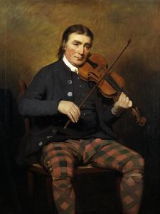 Niel Gow (1727-1807), 1787 by Sir Henry Raeburn
