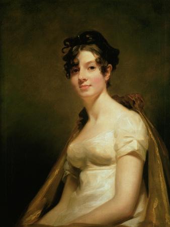 Portrait of Elizabeth Campbell (1756-1823) Marchesa Di Spineto, C.1812
