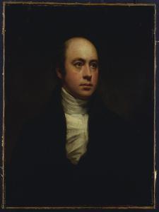 Portrait of Sir Francis Chantrey, in a Dark Jacket and White Cravat by Sir Henry Raeburn