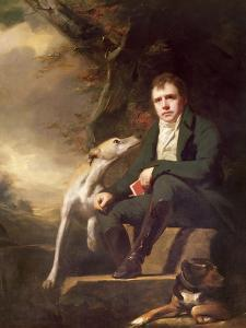 Portrait of Sir Walter Scott and His Dogs by Sir Henry Raeburn