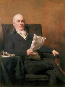 Robert Allan of Kirkliston, 1800 by Sir Henry Raeburn