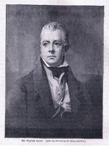 Sir Walter Scott by Sir Henry Raeburn
