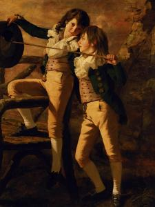 The Allen Brothers by Sir Henry Raeburn