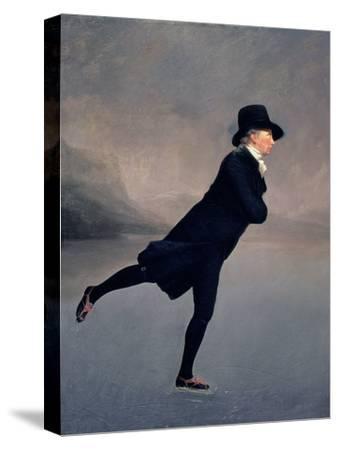 The Reverend Robert Walker Skating on Duddingston Loch, 1795