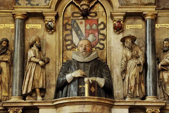 Sir Henry Savile, a Scholar and Translator of the King James Bible-Jim Richardson-Photographic Print