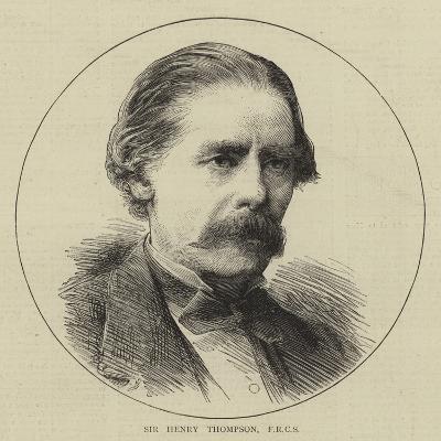 Sir Henry Thompson--Giclee Print
