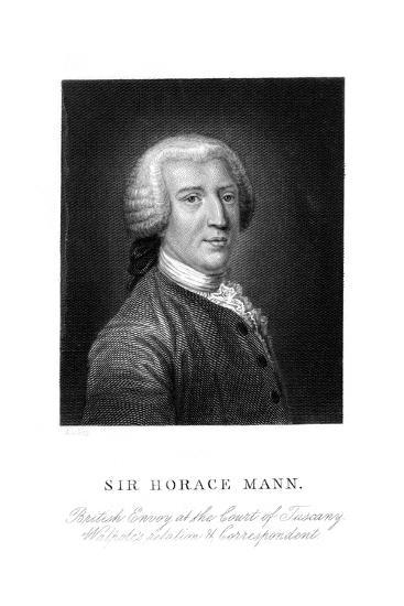 Sir Horace Mann--Giclee Print
