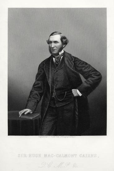 Sir Hugh Mac-Calmont Cairns, British Statesman, C1880-DJ Pound-Giclee Print