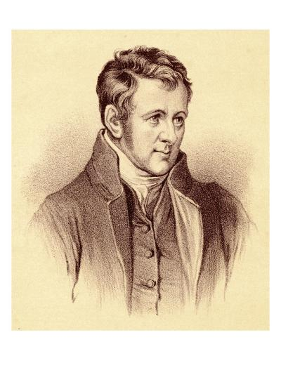 Sir Humphry Davy Scientist--Giclee Print
