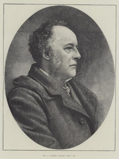 Sir J Everett Millais, Baronet, Ra--Giclee Print