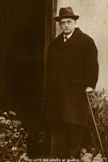Sir J M Barrie--Photographic Print