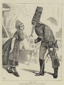 Kiss Me!, Scene from Creatures of Impulse at the Royal Court Theatre by Sir James Dromgole Linton