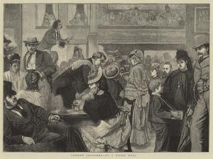 London Sketches, at a Music Hall by Sir James Dromgole Linton