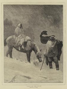 Lost in the Snow by Sir James Dromgole Linton