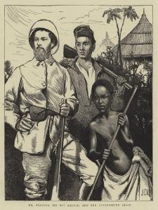 Mr Stanley, His Boy Kalulu, and the Interpreter Selim by Sir James Dromgole Linton