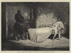 Scene from the Woman in White, at the Olympic Theatre by Sir James Dromgole Linton