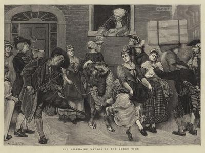 The Milkmaids' May-Day in the Olden Time
