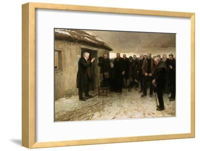 A Highland Funeral, 1882