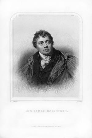 Sir James Mackintosh, Scottish Writer and Philosopher-S Freeman-Giclee Print