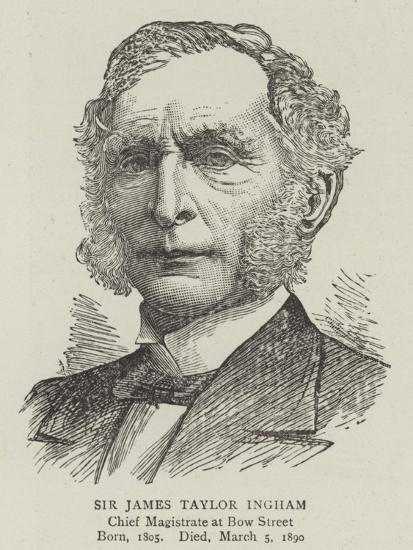 Sir James Taylor Ingham--Giclee Print