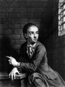 Jack Sheppard, Engraved by George White, 1728 by Sir James Thornhill