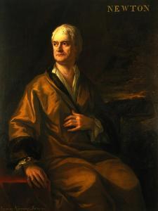 Sir Isaac Newton, 1710 by Sir James Thornhill