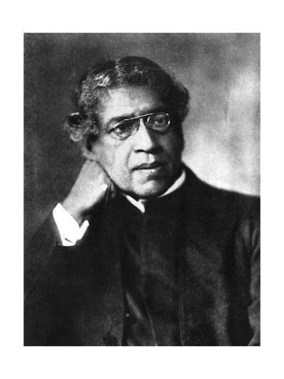 Sir Jc Bose, Photo--Giclee Print