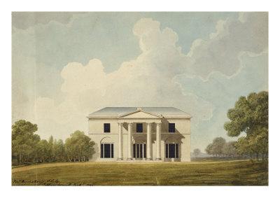 Design For a Villa, 1799