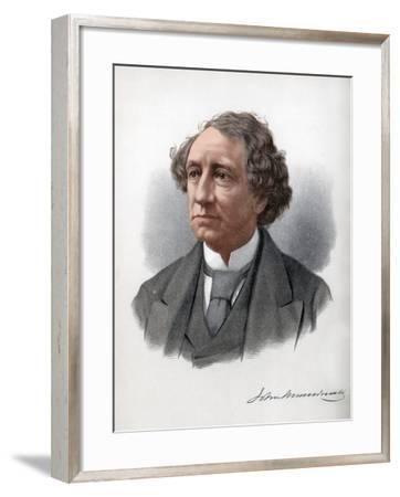 Sir John Alexander Macdonald, 1st Prime Minister of Canada, C1890-Petter & Galpin Cassell-Framed Giclee Print
