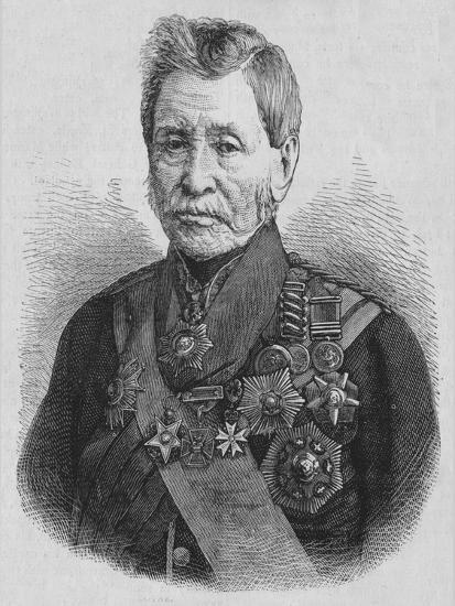 'Sir John Burgoyne', c1880-Unknown-Giclee Print