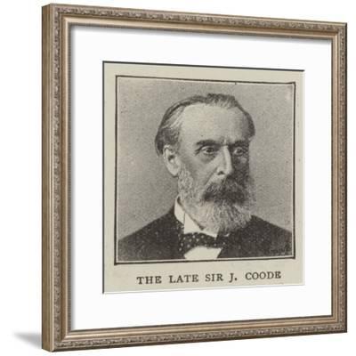 Sir John Coode--Framed Giclee Print