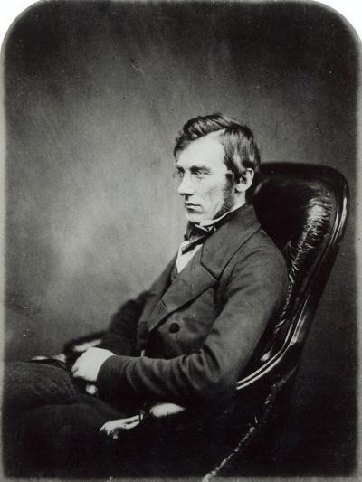 Sir John Dalton Hooker, c.1855- Maull-Giclee Print