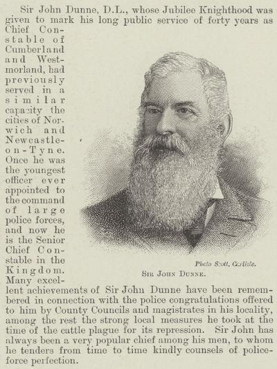 Sir John Dunne--Giclee Print