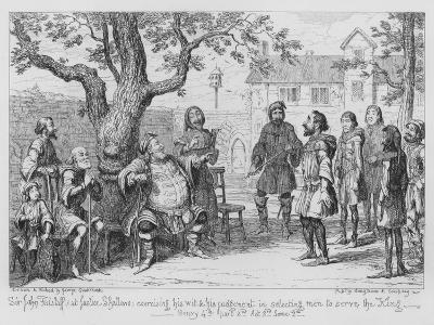 Sir John Falstaff-George Cruikshank-Giclee Print