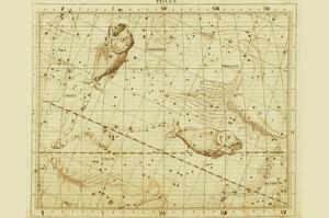 Pisces by Sir John Flamsteed