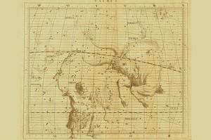 Taurus and Orion by Sir John Flamsteed