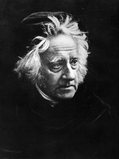 Sir John Frederick William Herschel, 1867-Julia Margaret Cameron-Photographic Print