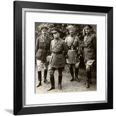 Sir John French, Commander-In-Chief of the Bef, France, World War I, 1914-1915--Framed Photographic Print