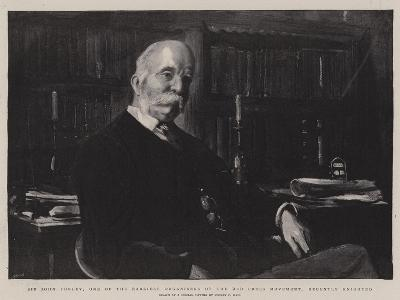Sir John Furley, One of the Earliest Organisers of the Red Cross Movement, Recently Knighted-Sydney Prior Hall-Giclee Print