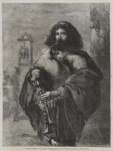 A Roman Bagpiper by Sir John Gilbert