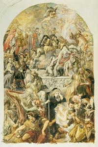 Apotheosis of Shakespeare's Characters, 1871 by Sir John Gilbert