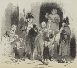 Charity Dinner by Sir John Gilbert