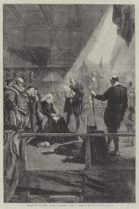 Execution of Mary Queen of Scots by Sir John Gilbert