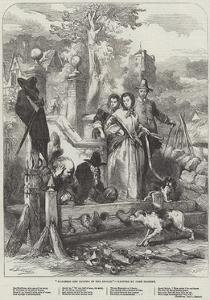 Hudibras and Ralpho in the Stocks by Sir John Gilbert