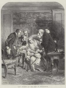 Last Moments of the Duke of Wellington by Sir John Gilbert