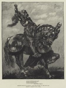 Marmion's Defiance to Douglas by Sir John Gilbert