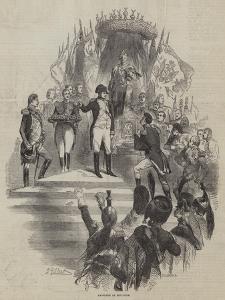 Napoleon at Boulogne by Sir John Gilbert
