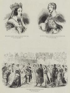 Royal Fancy Dress Ball by Sir John Gilbert